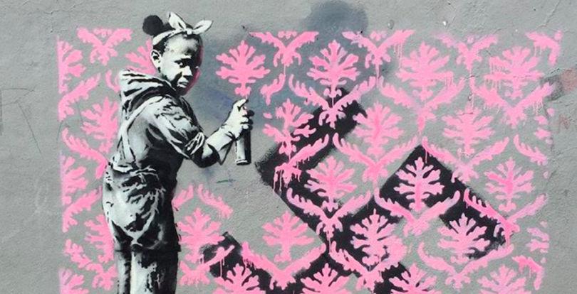 De cómo Banksy destruye una de sus obras y ésta paradójicamente se revaloriza, y sus memes