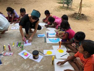 Últimos días para unirte a la causa #somoskanva y ayudar a través del arte a un colegio en la India