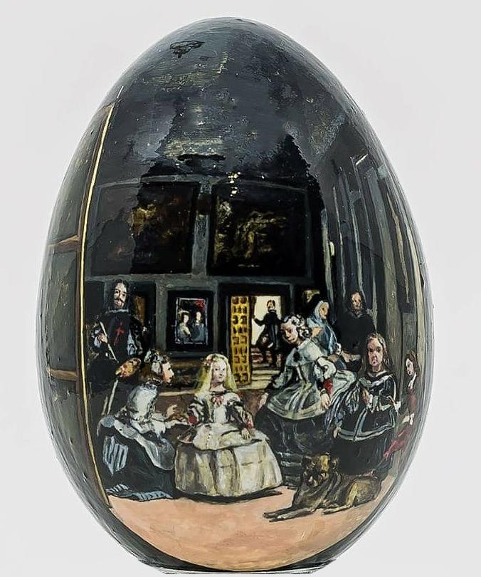 Arte ovoide: conoce a Mariana Fano y sus peculiares obras de arte sobre huevos