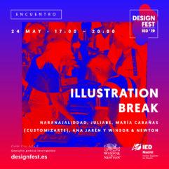 """Encuentro creativo """"Illustration Break"""" con Winsor & Newton y #marcatupágina"""