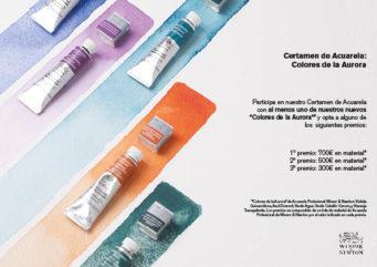 """Certamen de Acuarela """"Colores de la Aurora"""" de Winsor & Newton"""