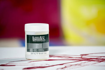 Para qué sirve el medium string gel o gel hilado de Liquitex