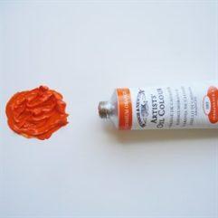 Los colores en el punto de mira: Naranja de Cadmio