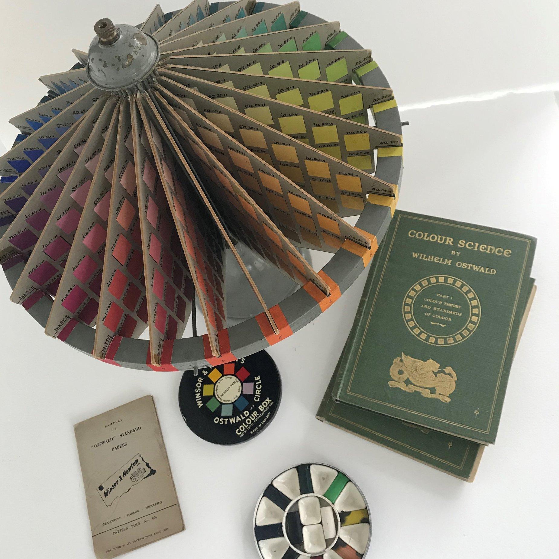 El Sistema de Color de Ostwald, la Bauhaus y Winsor & Newton
