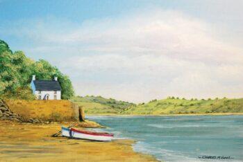 Relájate y déjate transportar a este bonito paisaje con el tutorial de pintura acrílica Galería de  Winsor & Newton