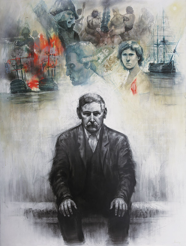 """Exposición """"Trafalgar: el Viaje con Galdós"""" de Daniel Parra"""