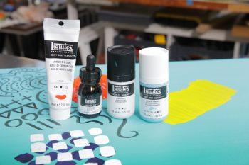 Analizamos las distintas gamas de pintura acrílica Liquitex y sus viscosidades