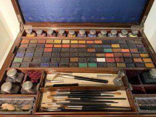 Artistas que utilizaban materiales Winsor & Newton
