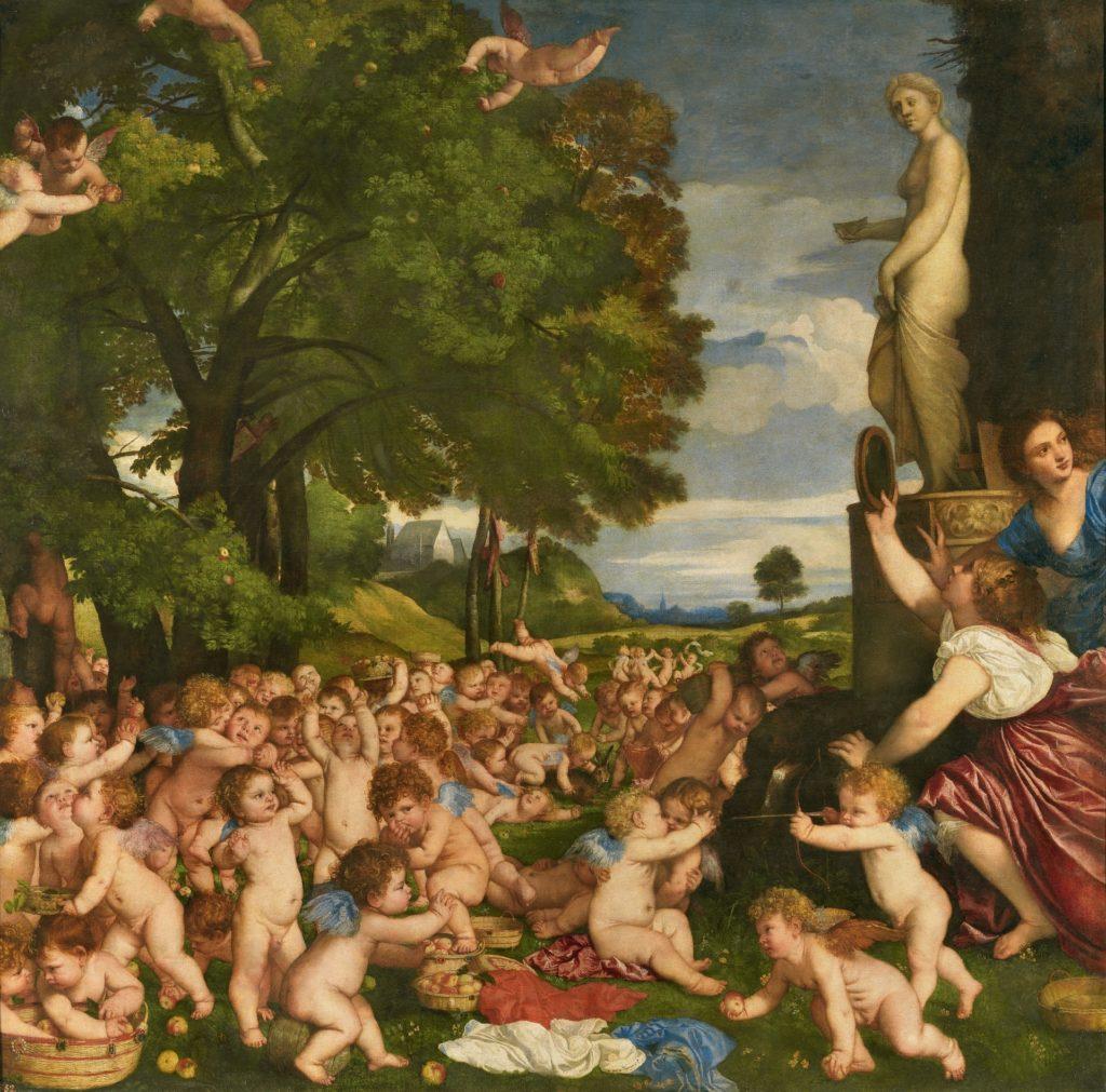 1518 - 1519. Óleo sobre lienzo, 172 x 175 cm. Sala 042